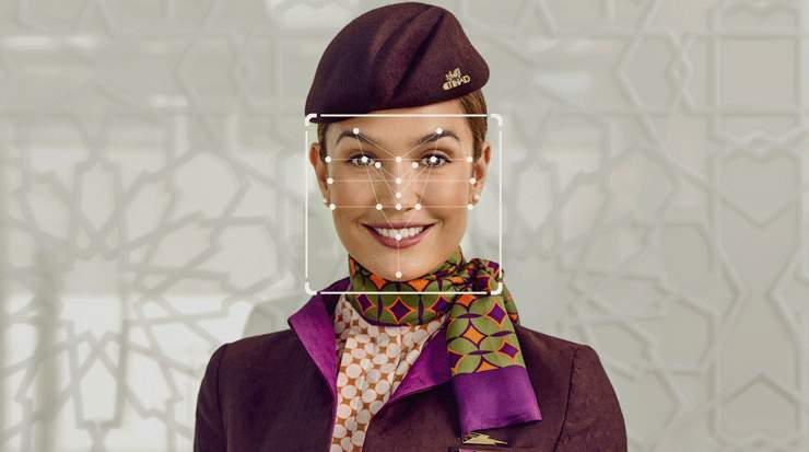 Etihad Airways and SITA trial facial biometric check-in