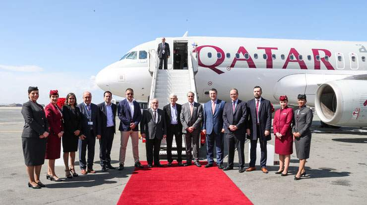 With all three Greek services, Qatar Airways will operate 58 times a week between Doha and Greece
