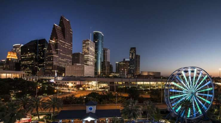 Houston, Texas, saw the largest increase in occupancy and the second-highest lift in RevPAR
