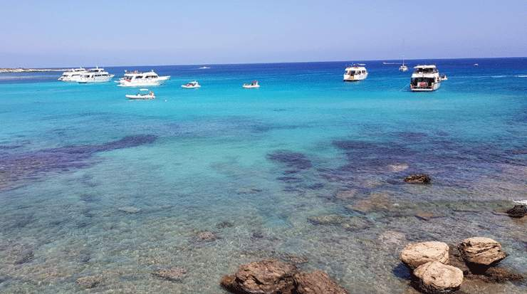 Cyprus has the Cleanest Bathing Waters in Europe