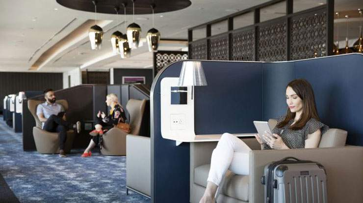 The new venue follows the April debut of the United Polaris lounge at San Francisco International Airport