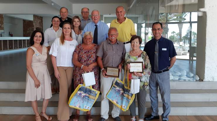 Austrian repeat tourists to Larnaca honoured