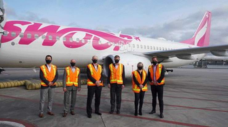 Swoop Launches Operations at Toronto Pearson Airport
