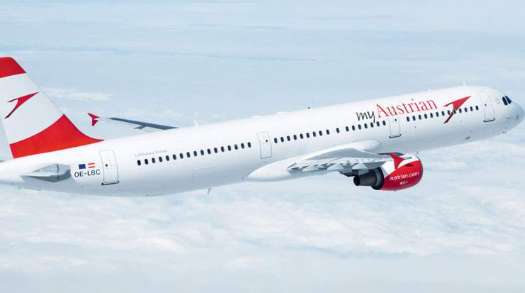 From January to May, Austrian Airlines carried roughly five million passengers, comprising a rise of 9.8 percent
