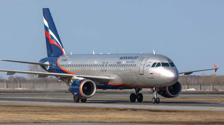Aeroflot flights from Moscow to Cairo are scheduled as three times weekly