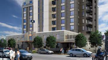 Rendering of Kimpton Hotel in Montana