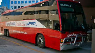 Greyhound Australia carries five million passengers over 38 million km a year