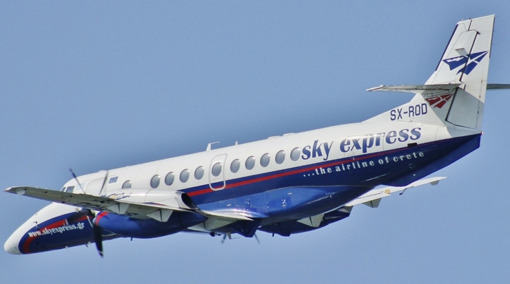 Sky Express and Blue Air Announce Codeshare