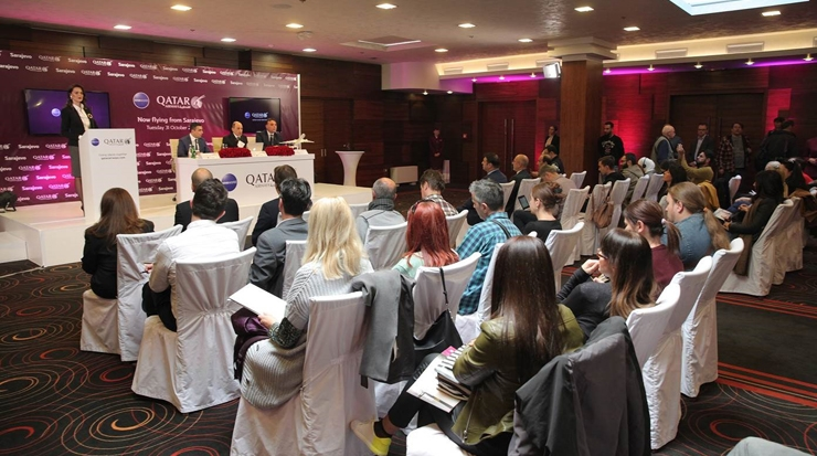 Qatar Airways' press conference