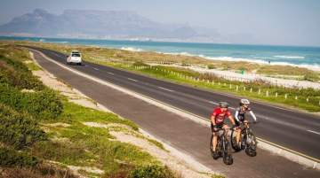 The cycling project aims to eventually link more scenic venues within cycling range of South African cities