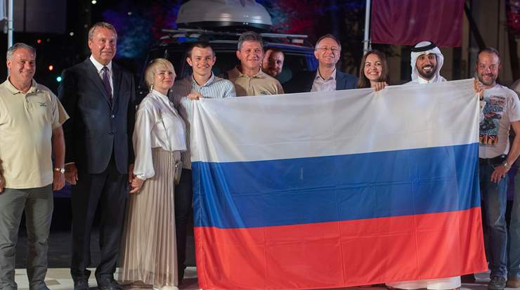 The Moscow – Doha rally welcomed in Qatar