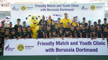 Borussia Dortmund has a strong fan base in Asia