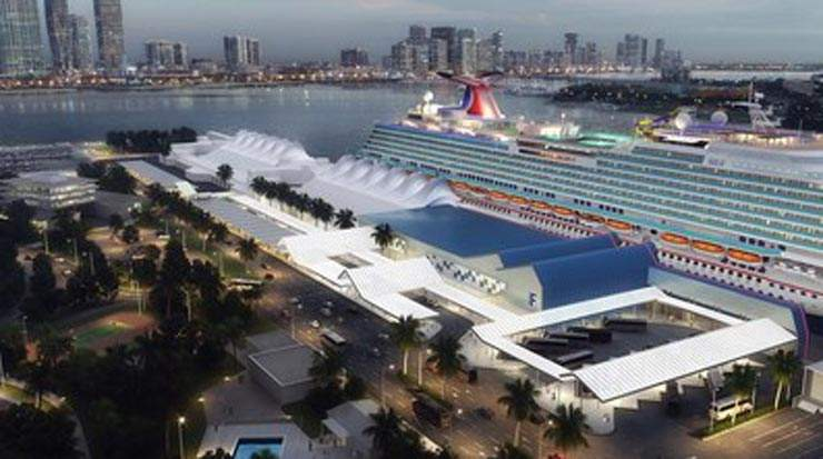 PortMiami And Carnival Cruise Line Break Ground On Terminal F