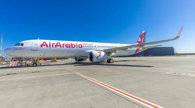 Air Arabia Receives the Second A321neo LR