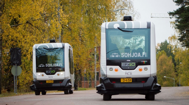 Driverless Electric Bus