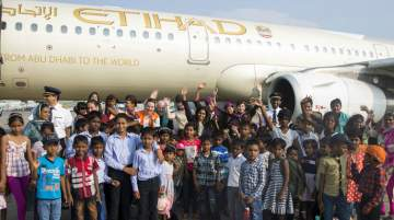 Etihad launched a community drive to donate 150,000 inflight meals to charity this year
