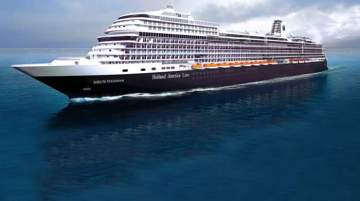 During the sea trials, Nieuw Statendam underwent a series of performance tests on the ship's systems, machinery and engines