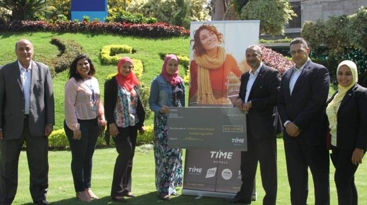 TIME Hotels Raise Funds