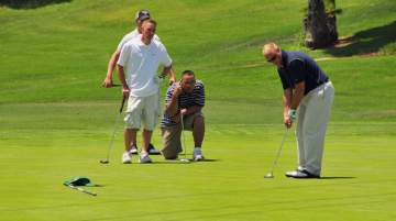 PGA HOPE helps veterans assimilate back into their communities through the social interaction golf provides