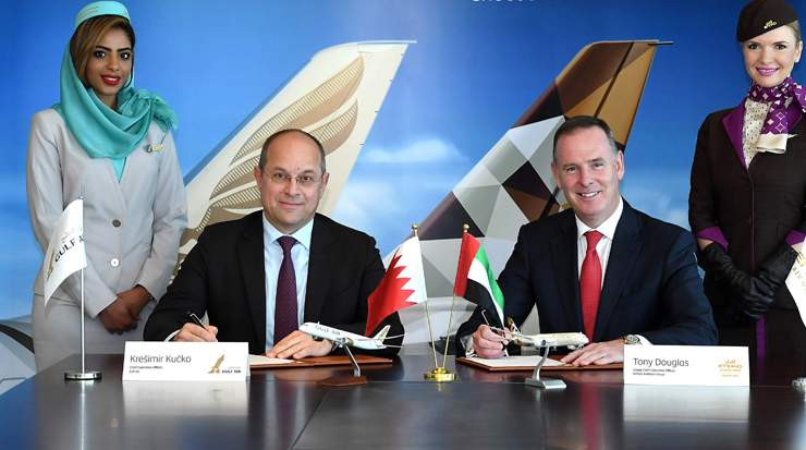 Gulf Air and Etihad Airways signed codeshare agreement