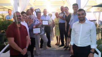 Repeat tourists to Larnaca Region honoured