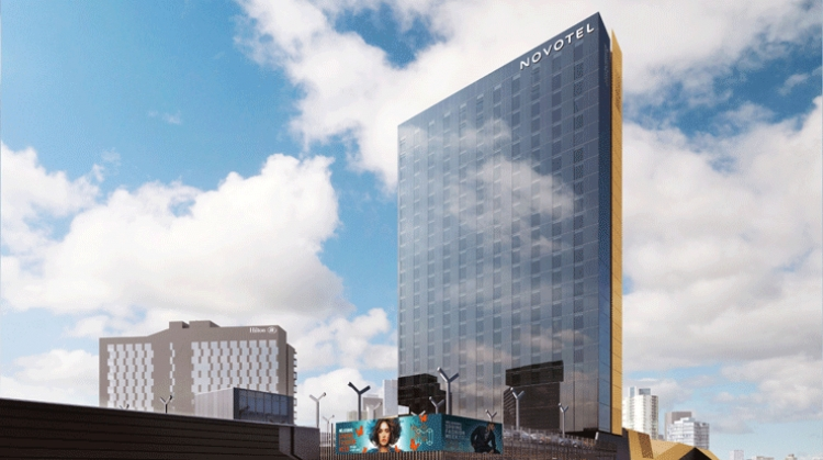 Rendering of Novotel Melbourne South Wharf