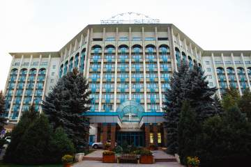 The property sees the return of the Hyatt brand to Kazakhstan