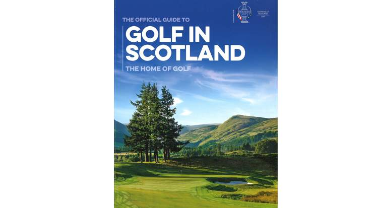 VisitScotland: Example of golf brochure