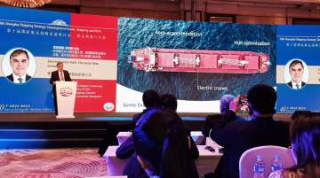 CSC president speaks at Senior Maritime Conference in China