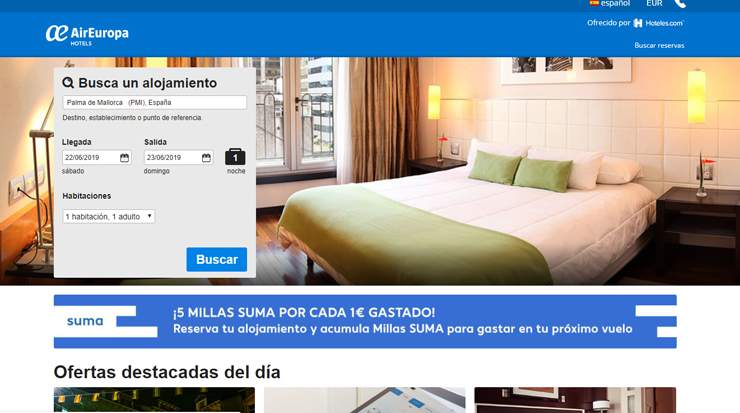 Air Europa Joined Forces with Expedia
