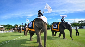 King's Cup Elephant Polo Tournament