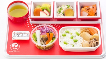 Japan Airlines Introduced Innovative Menu