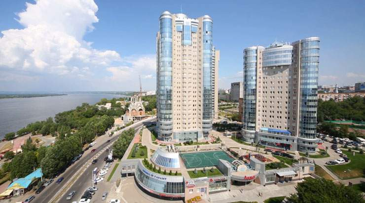 Samara is Russia's sixth largest city