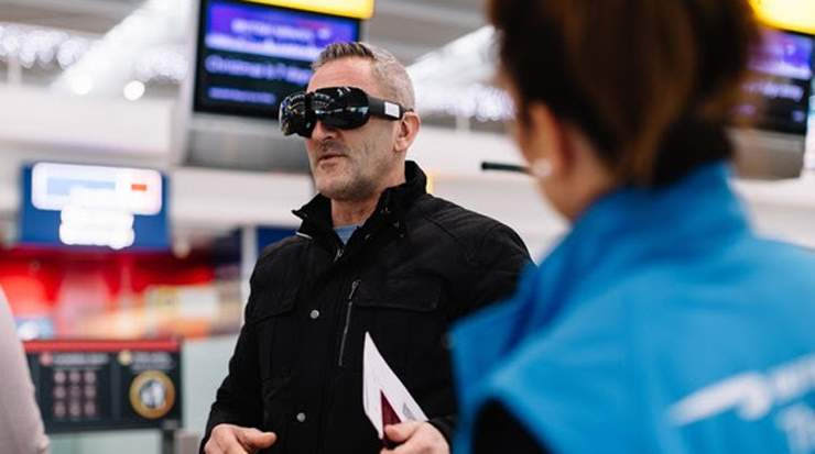 British Airways Customer Experiences Club World Virtual Reality
