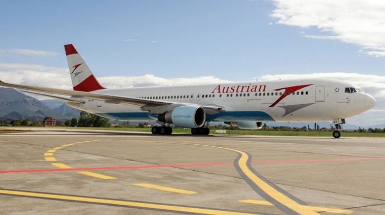 Austrian Airlines Maintains Growth