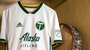 Alaska Airlines' wordmark will continue to be featured on Portland Timbers apparel