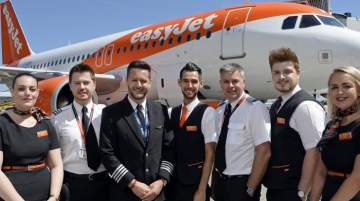 easyJet has flown over 171 million passengers since it launched operations from London Gatwick almost 20 years ago