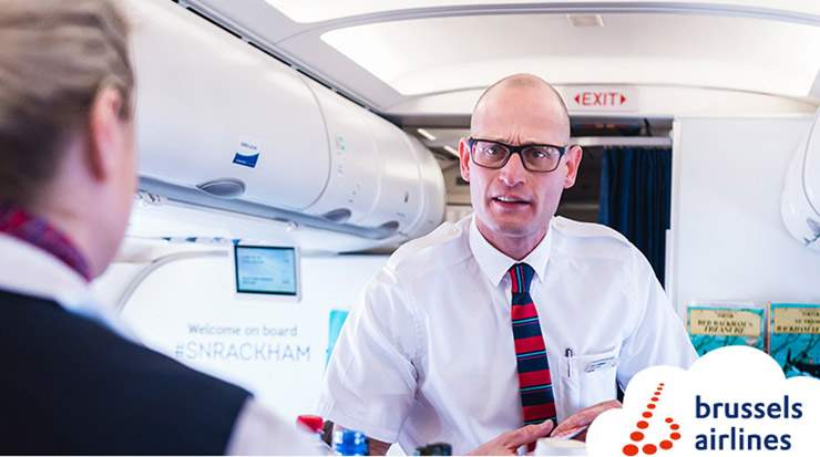 Brussels Airlines welcomed 98 new flight attendants