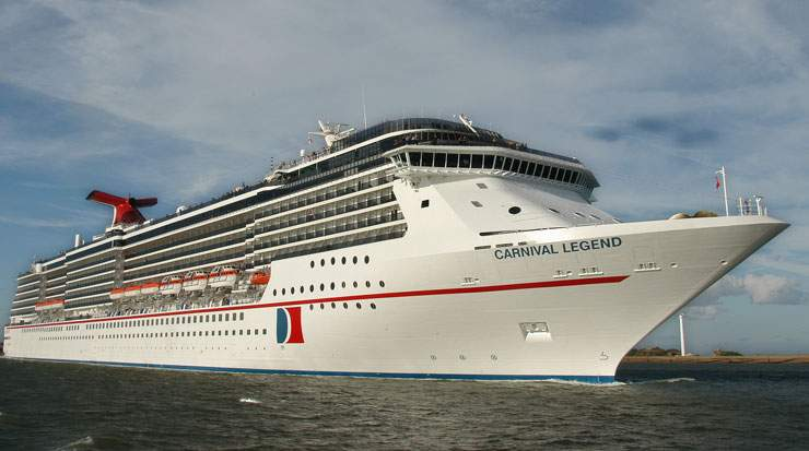 Carnival Legend is undergoing an extensive multi-million-dollar renovation