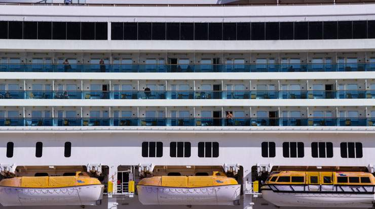 The survey found that loyal cruisers were more likely to stay with one particular cruise line brand