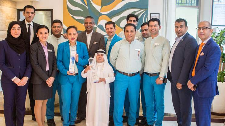 Team of Ramada by Wyndham Downtown Dubai