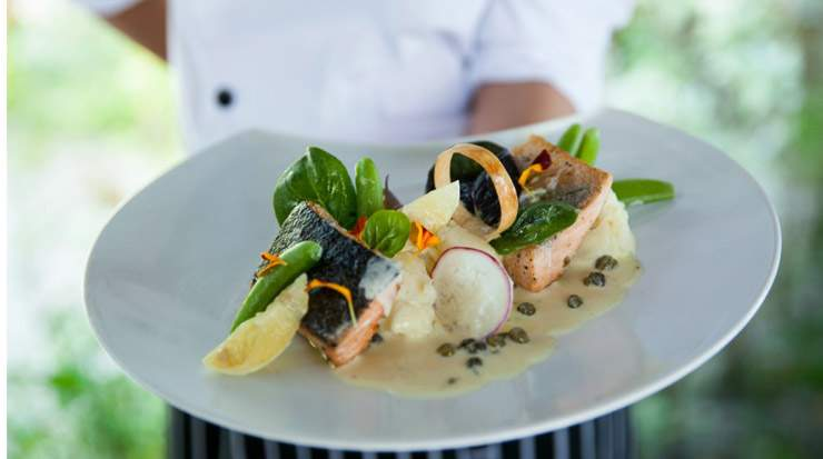 Dining at Outrigger Konotta Maldives Resort with Michelin Star chef James Mackenzie