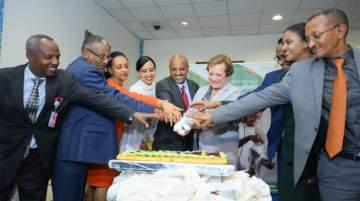 Ethiopian Airlines inaugurated flights to Manchester