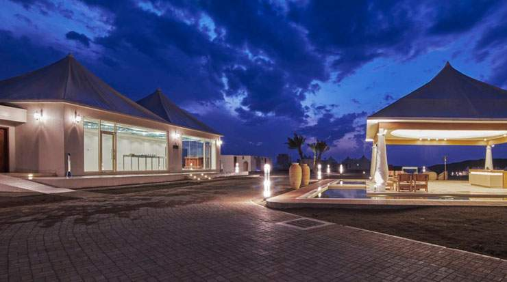 Dunes by Al Nahda is the closest desert resort to downtown Muscat