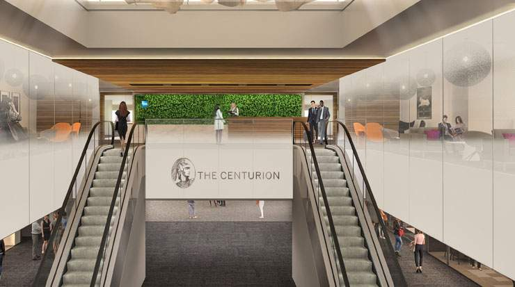 The Centurion Lounge at DEN will offer sweeping airfield views and design elements unique to its location