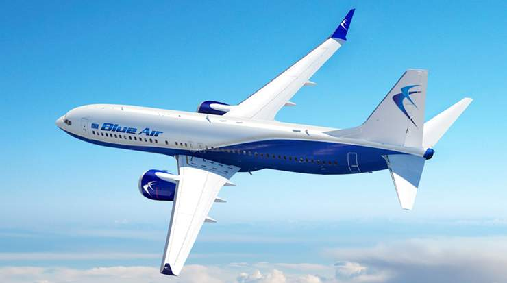 Blue Air Winter Schedule to  Launch