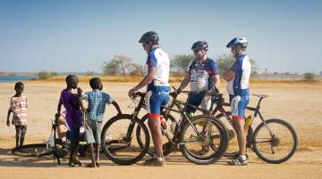 Bike for Africa will also financially support the local project Foumbot, a technical school for 700 pupils