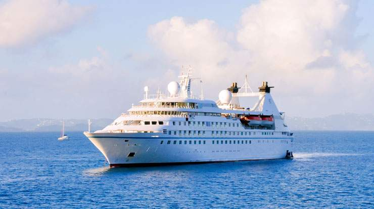 Windstar Cruises' six-ship fleet includes Star Legend