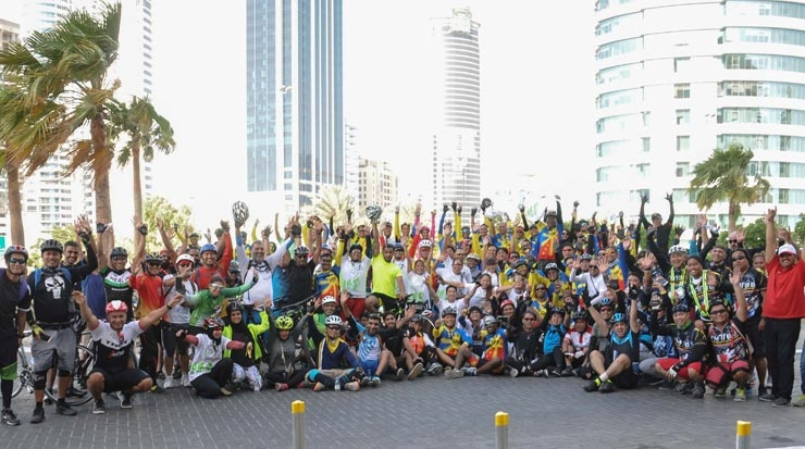 Cycle Safe Bahrain ride