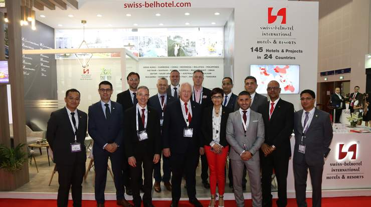 Swiss-Belhotel team at ATM